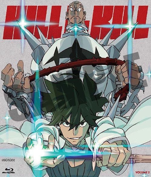 Aniplex of America Inc Kill La Kill Vol 3 Blu-Ray*