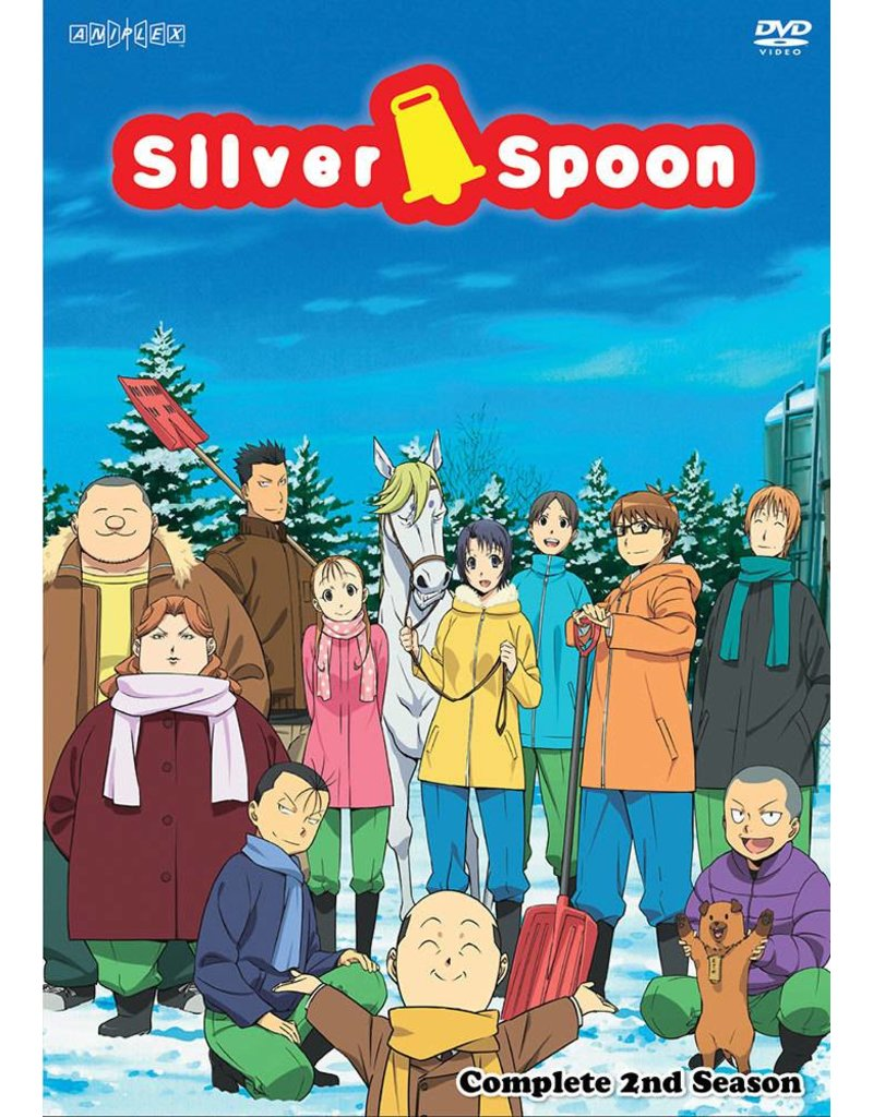 Aniplex of America Inc Silver Spoon Complete 2nd Season DVD