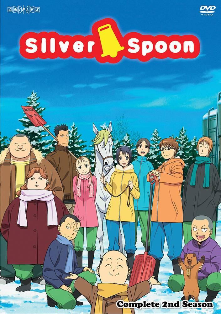 Aniplex of America Inc Silver Spoon Complete 2nd Season DVD