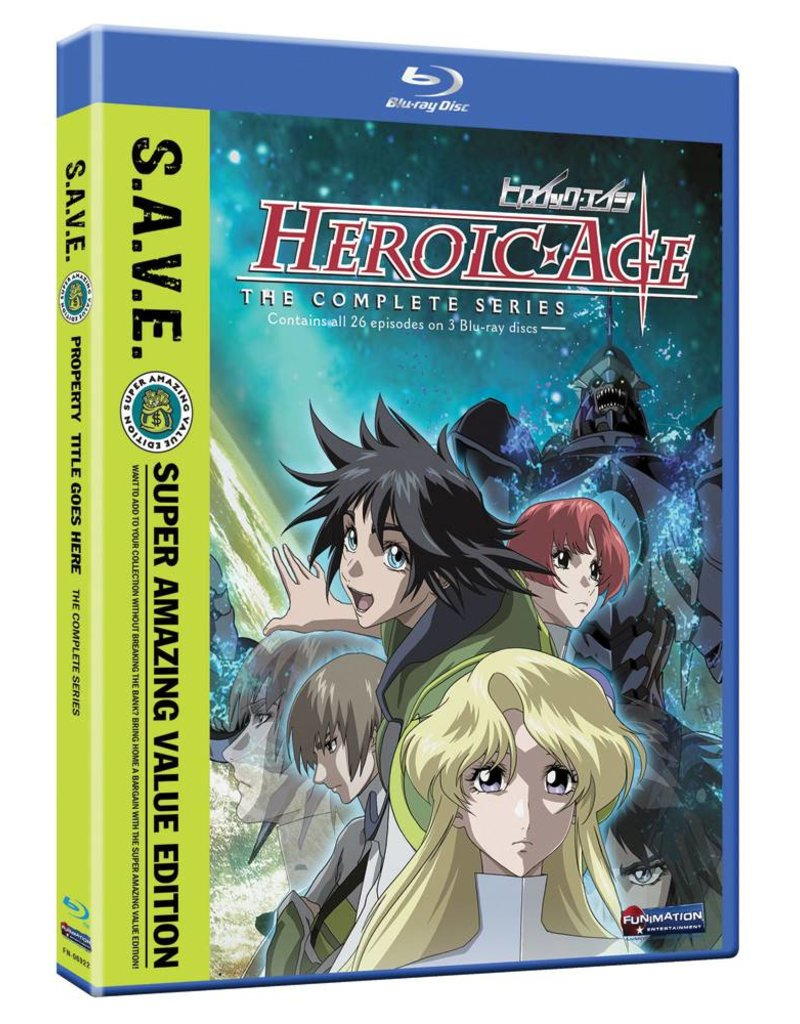 Funimation Entertainment Heroic Age Complete Series (S.A.V.E. Edition) Blu-Ray*