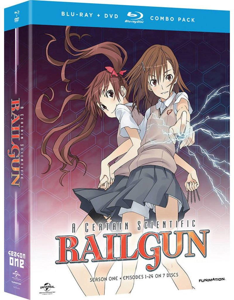 Funimation Entertainment Certain Scientific Railgun, A Season 1 Blu-Ray/DVD