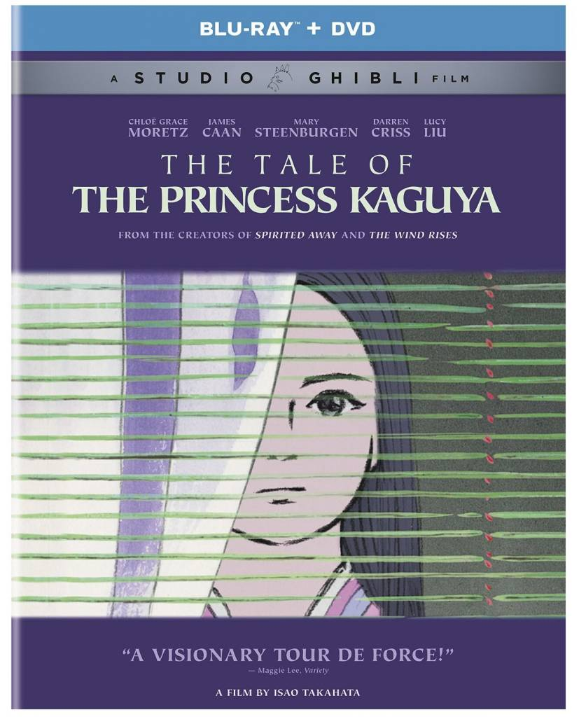 GKids/New Video Group/Eleven Arts Tale of the Princess Kaguya,The Blu-Ray/DVD