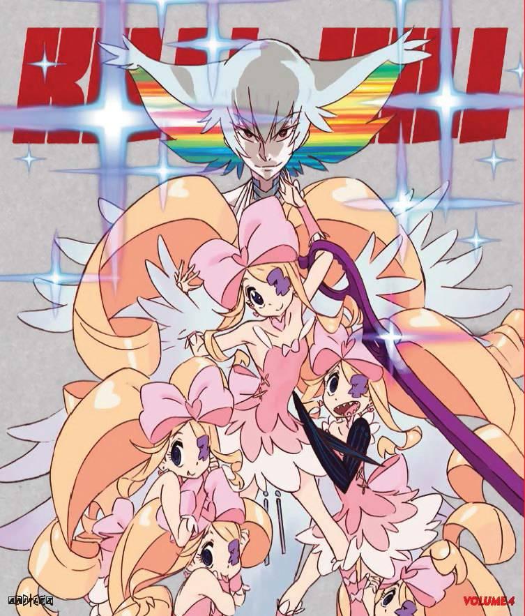Aniplex of America Inc Kill La Kill Vol 4 Limited Edition Blu-Ray/DVD w/ Bonus DVD*