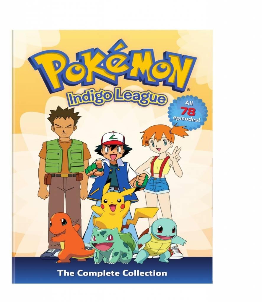Viz Media Pokemon Indigo League Complete Collection (Season 1) DVD