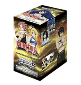 Bushiroad Fairy Tail Ver E (Full Booster Box) Weiss Schwarz*