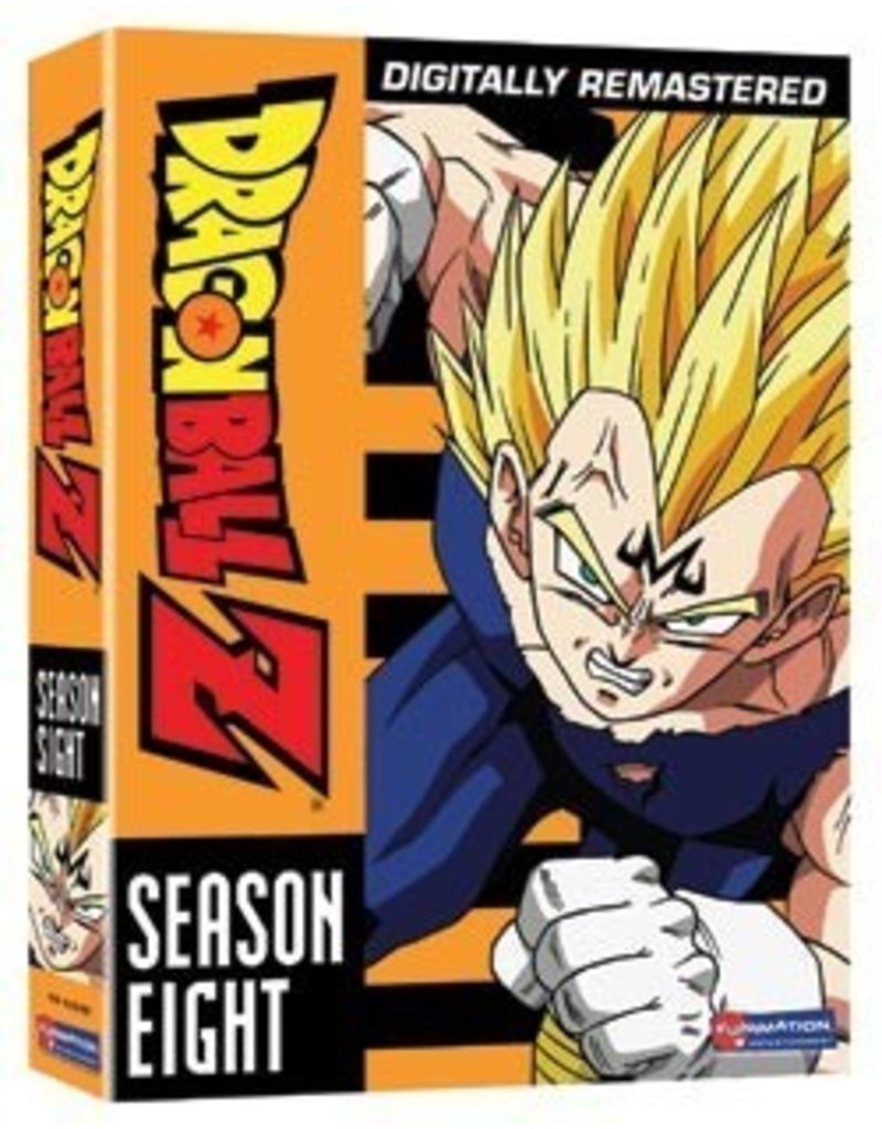 Funimation Entertainment Dragon Ball Z Season 8 DVD Set