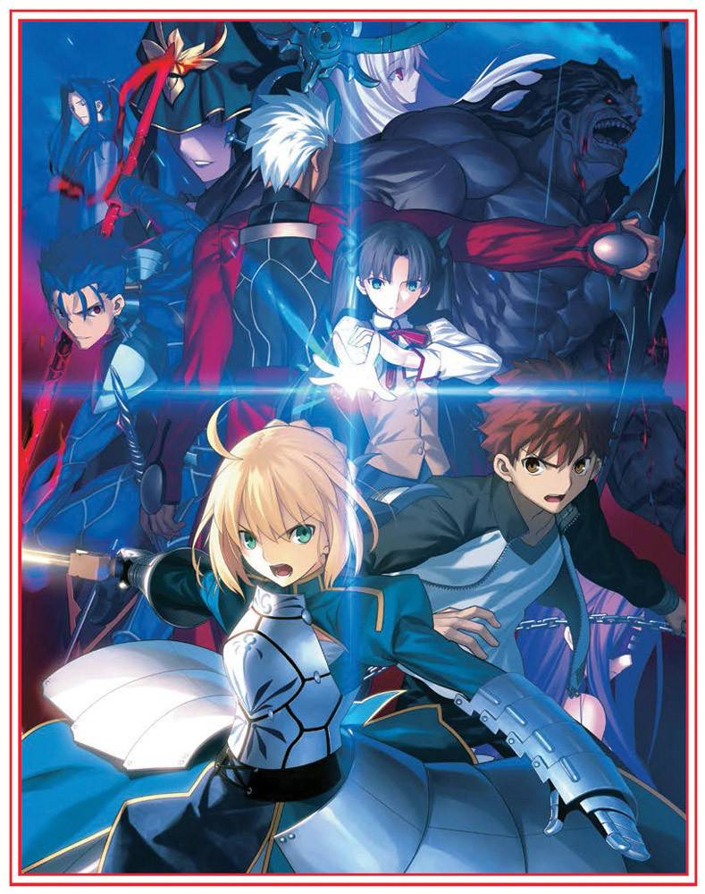 Aniplex of America Inc Fate Stay Night Unlimited Blade Works LE Blu-Ray Set 1