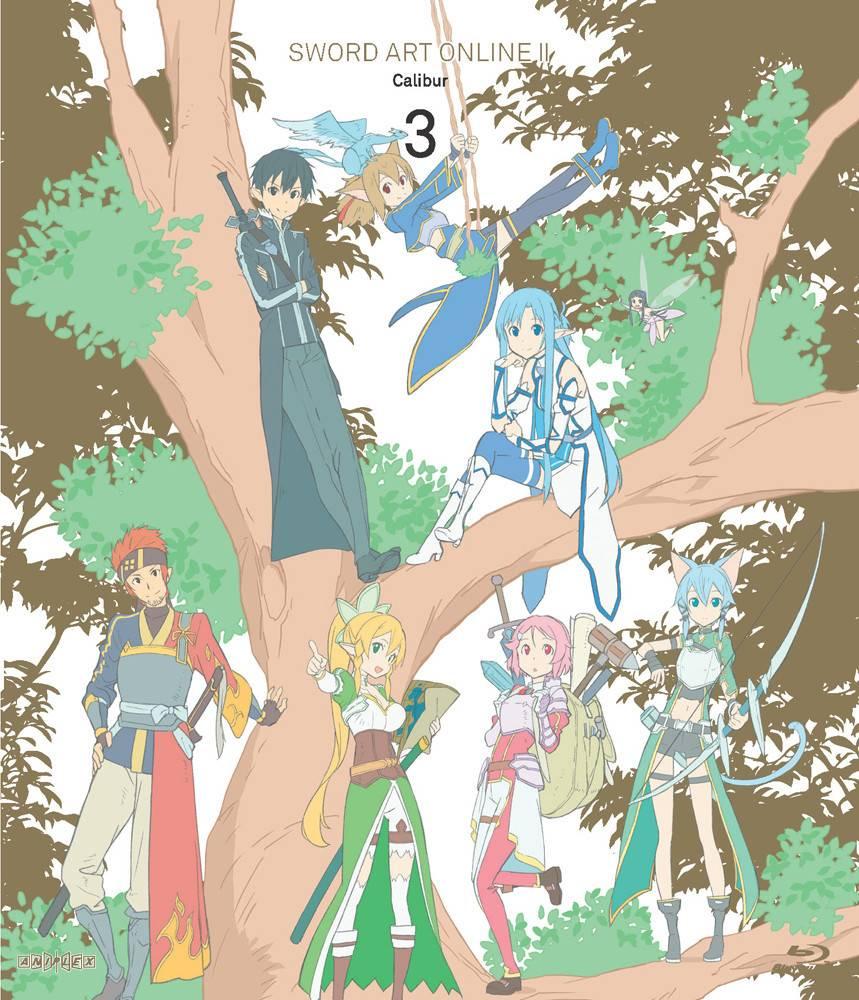 Aniplex of America Inc Sword Art Online II - Calibur (Vol. 3) Limited Edition*