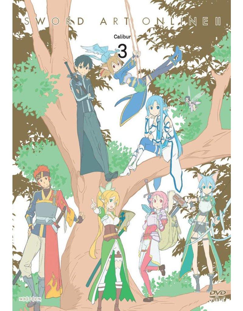Aniplex of America Inc Sword Art Online II - Calibur (Vol. 3) DVD*