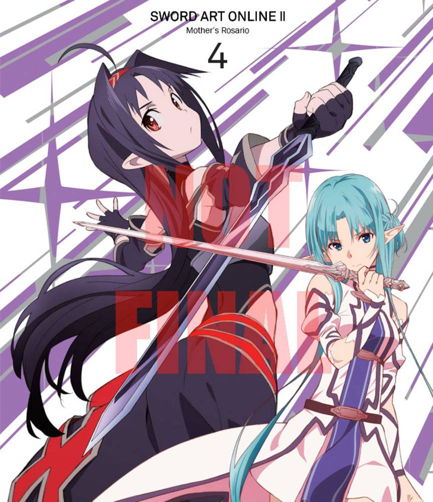Aniplex of America Inc Sword Art Online II - Mother's Rosario (Vol. 4) Limited Edition