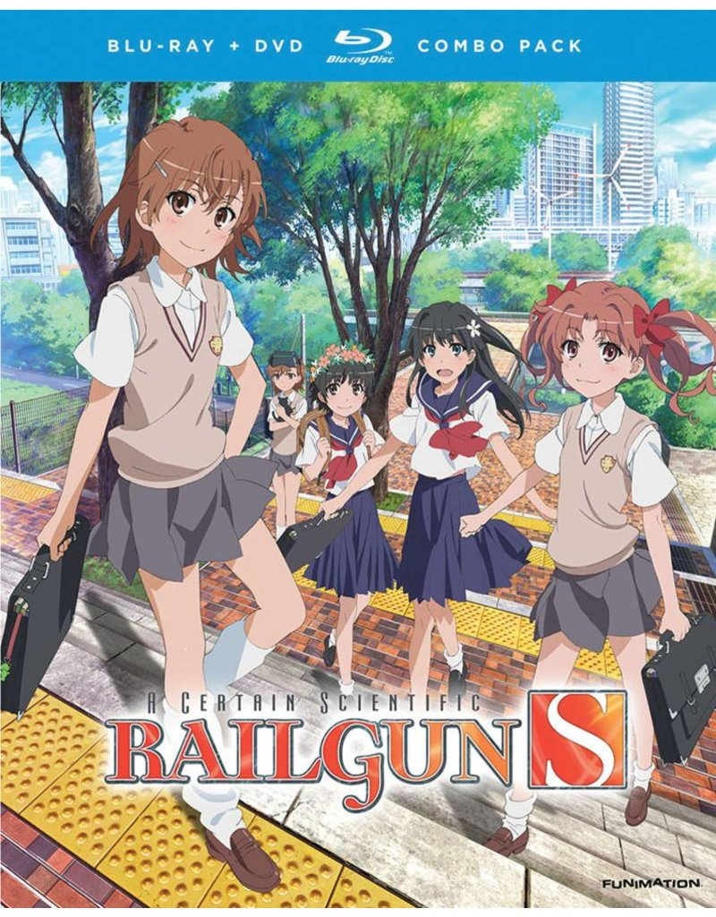 Funimation Entertainment Certain Scientific Railgun S, A Season 2 Blu-Ray/DVD