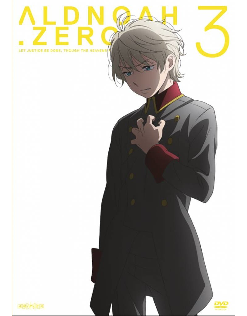 Aniplex of America Inc Aldnoah Zero Part 3 DVD