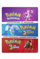 Viz Media Pokemon Movies 1-3 Blu-Ray Steelbook Collection