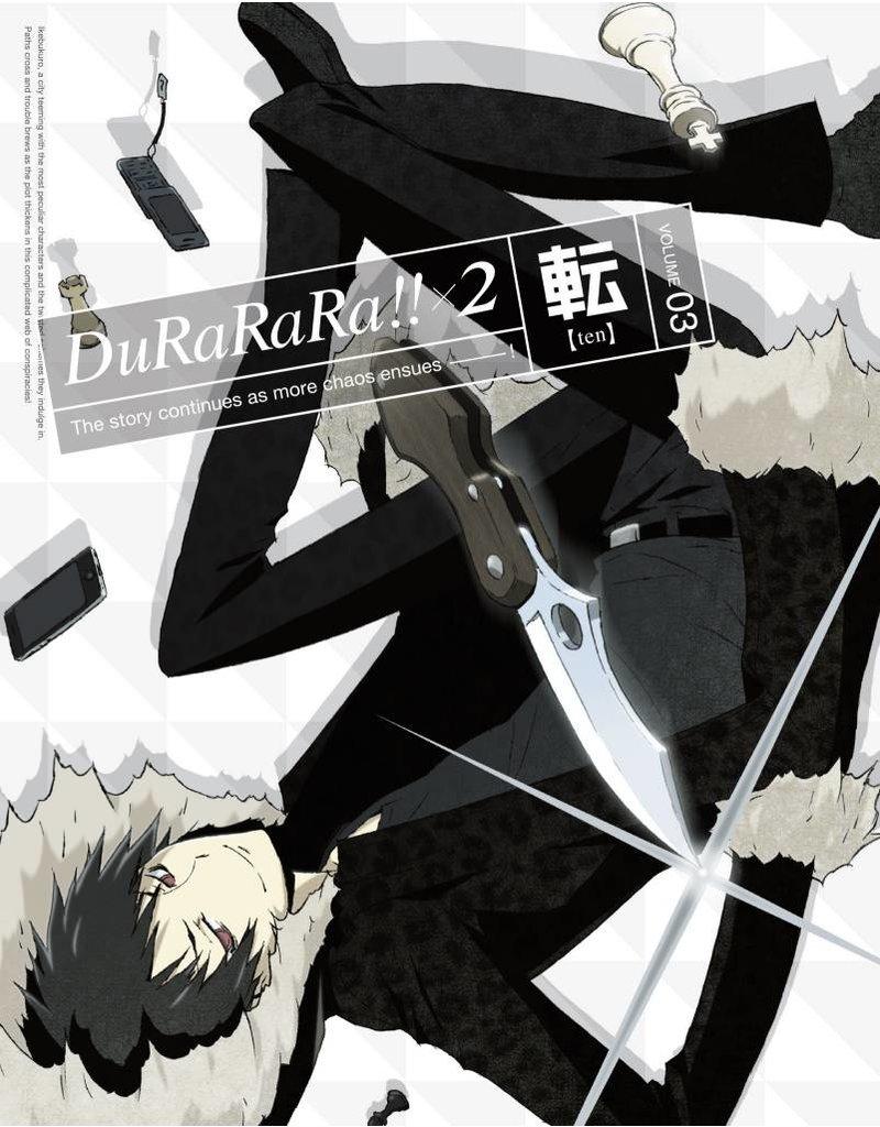 Aniplex of America Inc Durarara X2 Vol. 3 Blu-Ray