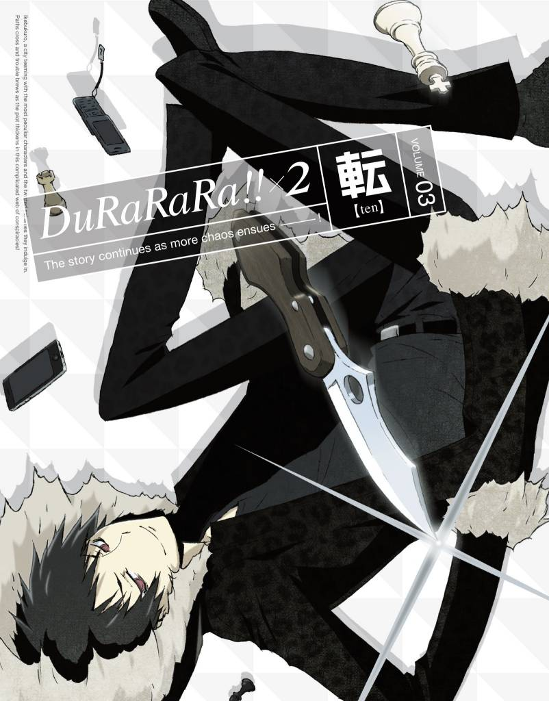 Aniplex of America Inc Durarara X2 Vol. 3 Blu-Ray
