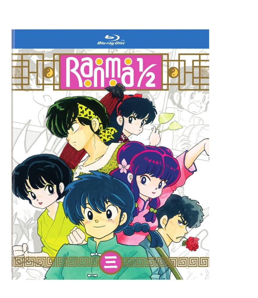 Viz Media Ranma 1/2 Blu-Ray Set 3