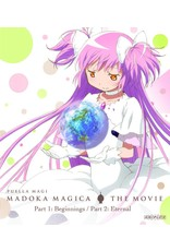 Aniplex of America Inc Puella Magi Madoka Magica the Movie Part 1 & 2 Std Ed Blu-Ray/DVD