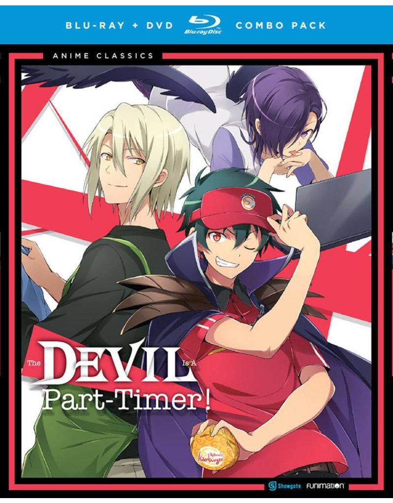 Funimation Entertainment Devil Is A Part-Timer (Anime Classics) Blu-Ray/DVD*