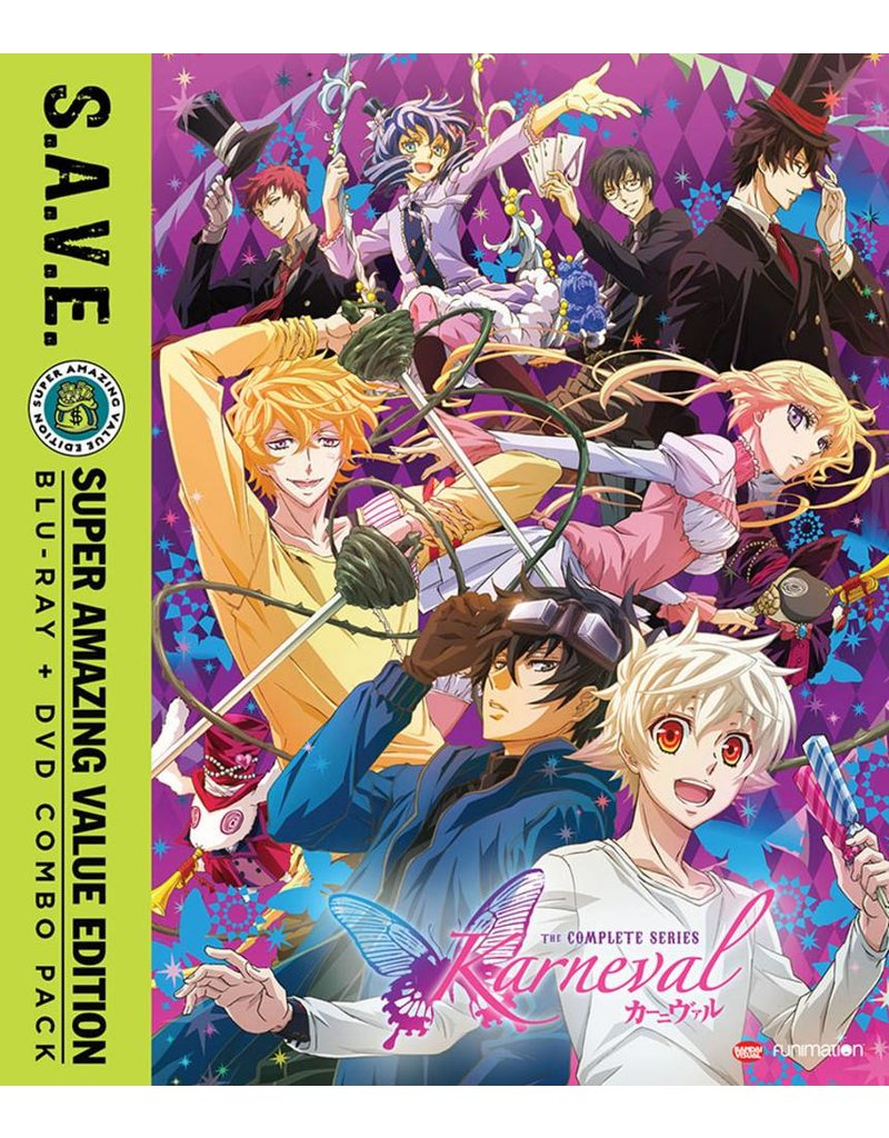 Funimation Entertainment Karneval Complete Series (S.A.V.E. Edition) Blu-Ray/DVD*