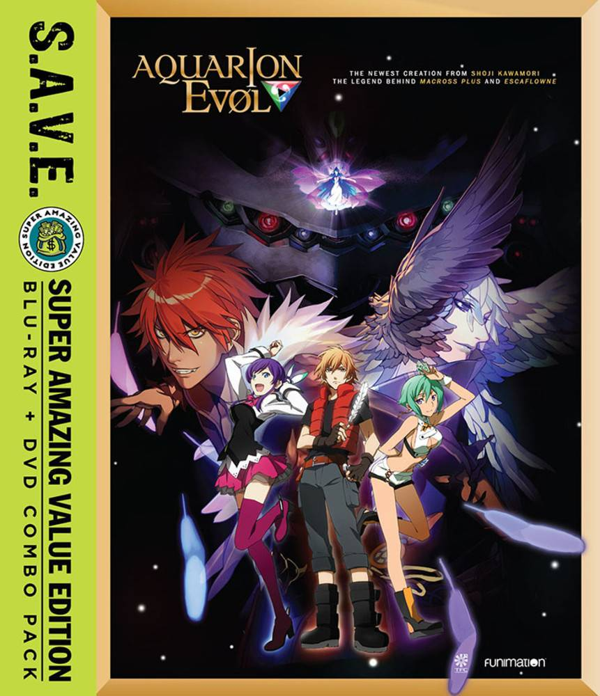 Funimation Entertainment Aquarion Evol Complete Series (S.A.V.E. Edition) Blu-Ray/DVD