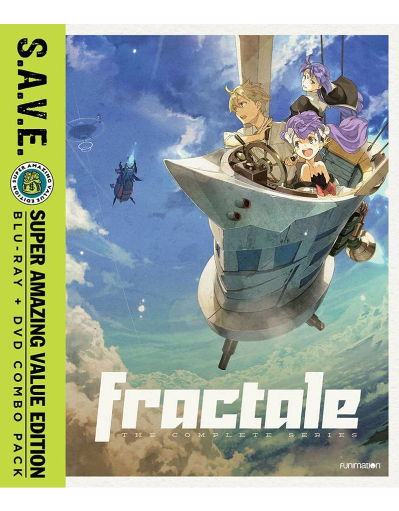 Funimation Entertainment Fractale Complete Series (S.A.V.E. Edition) Blu-Ray/DVD*
