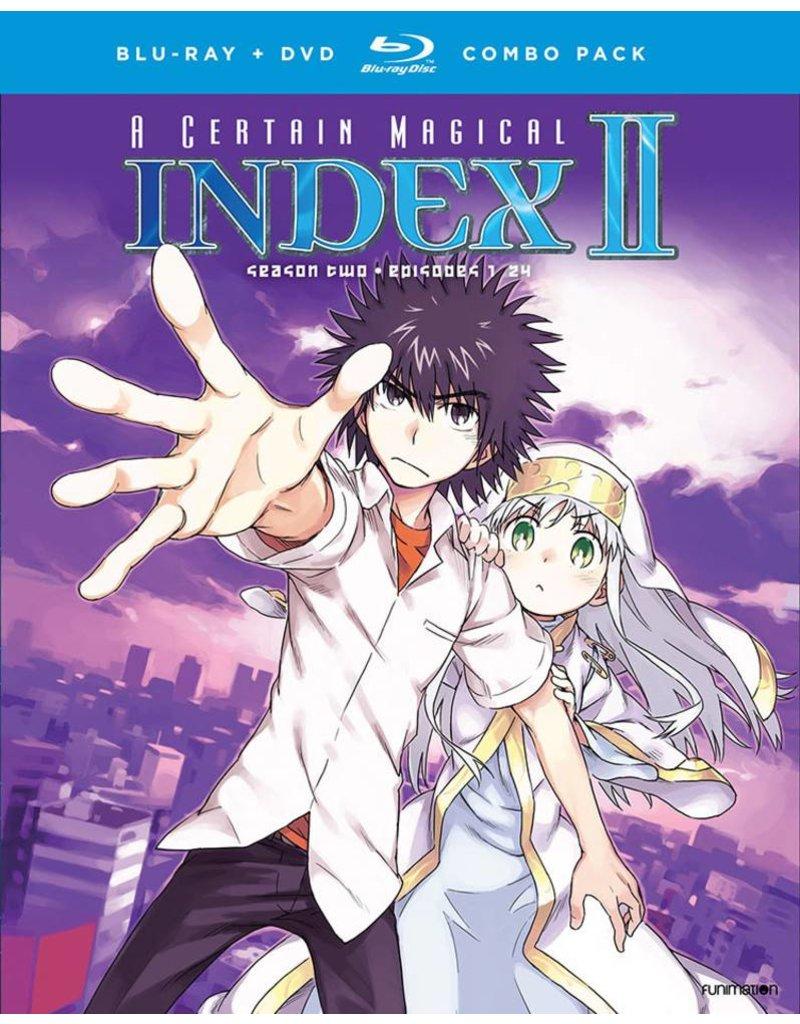 Funimation Entertainment Certain Magical Index II (Season 2 Set) Blu-Ray/DVD*