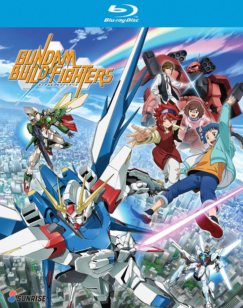 Nozomi Ent/Lucky Penny Gundam Build Fighters Blu-Ray