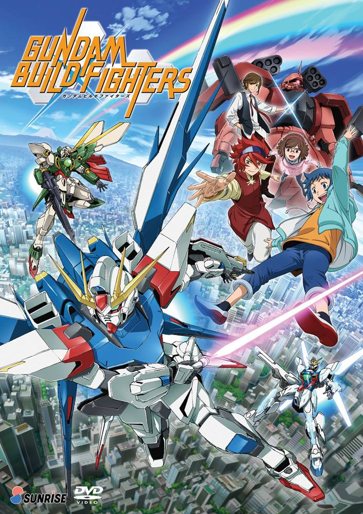 Nozomi Ent/Lucky Penny Gundam Build Fighters DVD