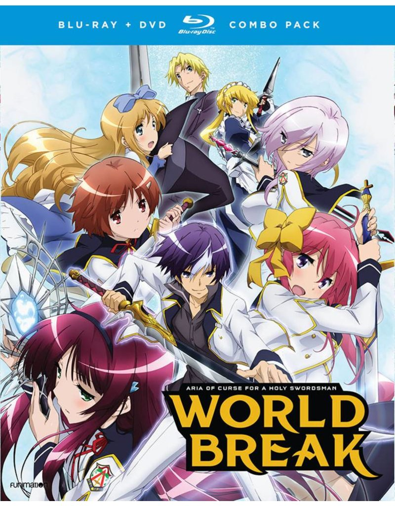 Funimation Entertainment World Break Aria of Curse for a Holy Swordsman Blu-Ray/DVD*