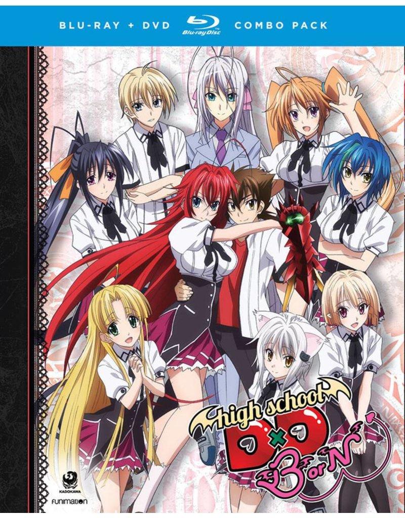 Funimation Entertainment High School DxD BorN (Season 3) Blu-Ray/DVD*