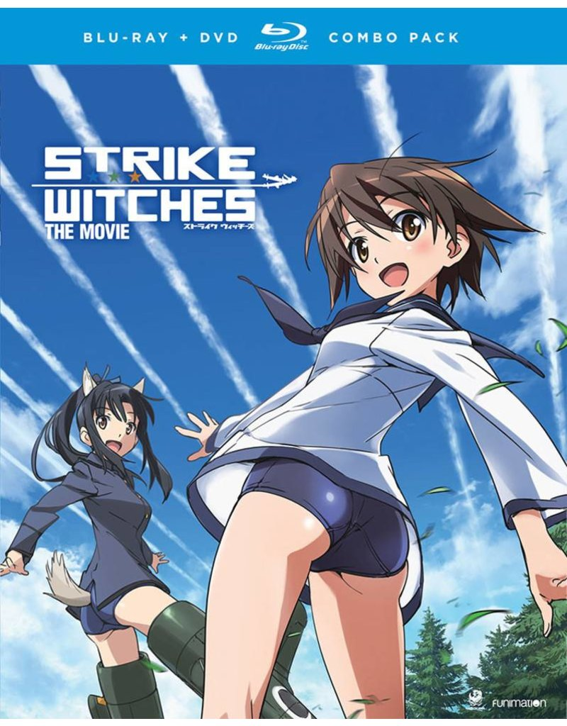 Funimation Entertainment Strike Witches the Movie Blu-Ray/DVD