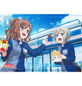 Lawsons Lisa Imai/Moca Aoba BanG Dream Lawsons A2 Wallscroll