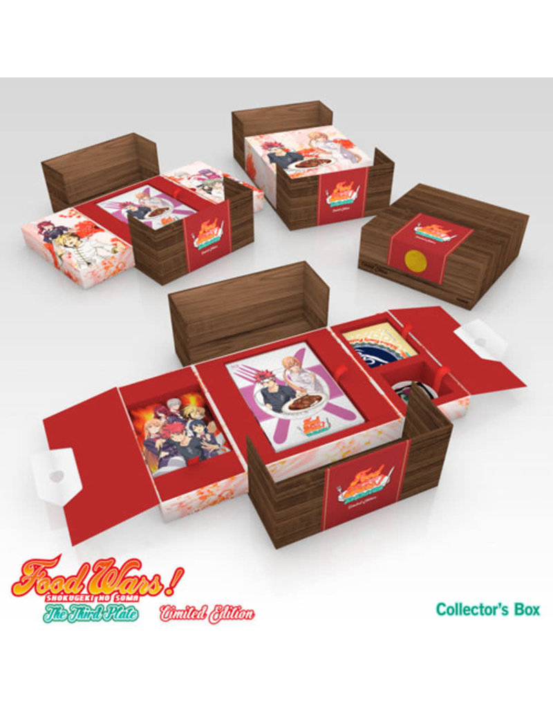 Sentai Filmworks Food Wars! The Third Plate (Season 3) Premium Edition