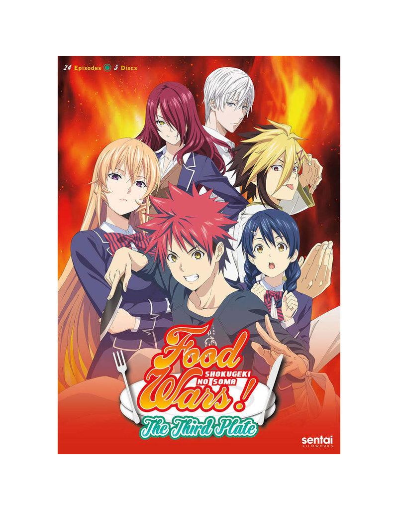 Sentai Filmworks Food Wars! The Third Plate (Season 3) DVD