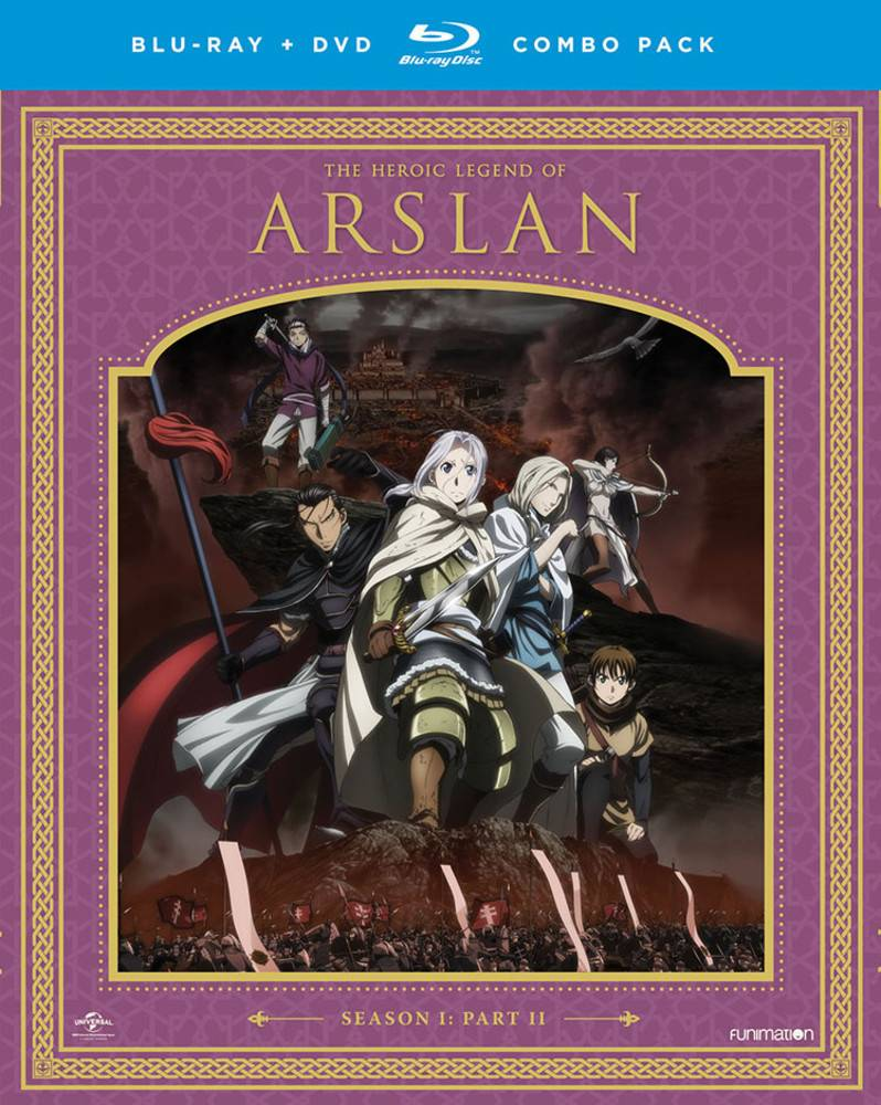 Funimation Entertainment Heroic Legend of Arslan, The Season 1 Part 2 Blu-Ray/DVD
