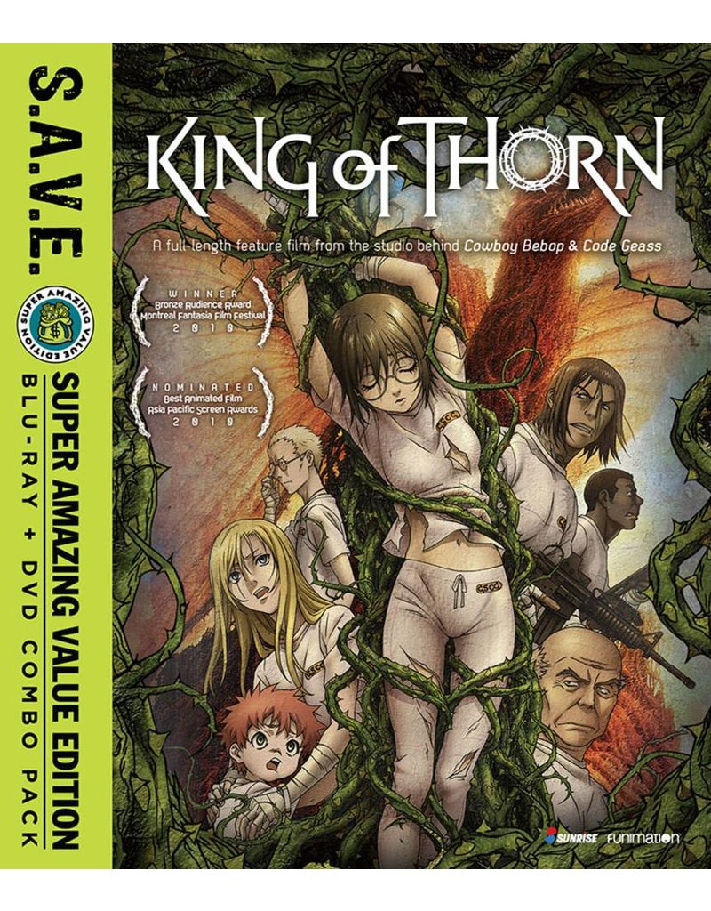Funimation Entertainment King of Thorn (S.A.V.E. Edition) Blu-Ray/DVD*