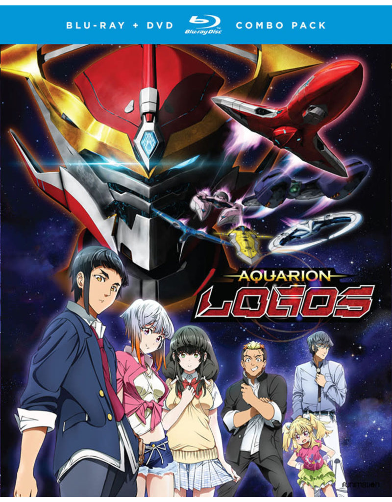 Funimation Entertainment Aquarion Logos (Season 3) Part 1 Blu-Ray/DVD*