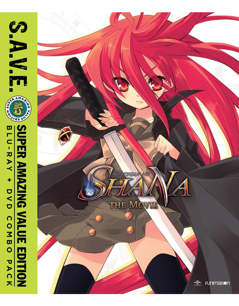 Funimation Entertainment Shakugan no Shana the Movie (S.A.V.E. Edition) Blu-Ray/DVD*
