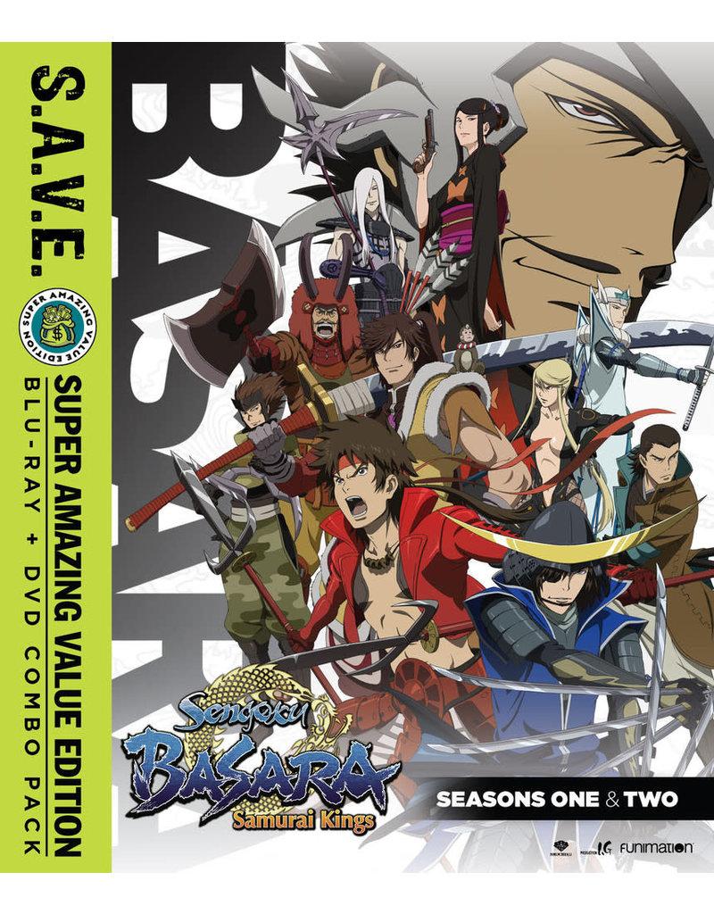 Funimation Entertainment Sengoku Basara Seasons 1 and 2 + OVA (S.A.V.E. Edition) Blu-Ray/DVD*