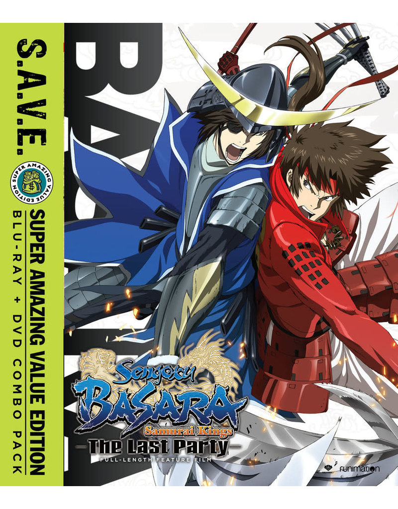 Funimation Entertainment Sengoku Basara the Last Party (S.A.V.E. Edition) Blu-Ray/DVD*