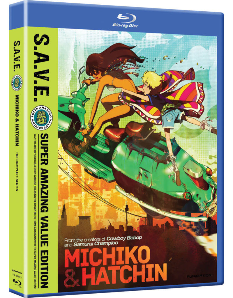 Funimation Entertainment Michiko & Hatchin Complete Series (S.A.V.E. Edition) Blu-Ray*