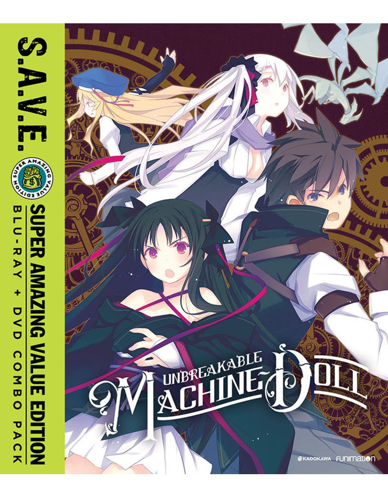 Funimation Entertainment Unbreakable Machine Doll Complete Series (S.A.V.E. Edition) Blu-Ray/DVD*