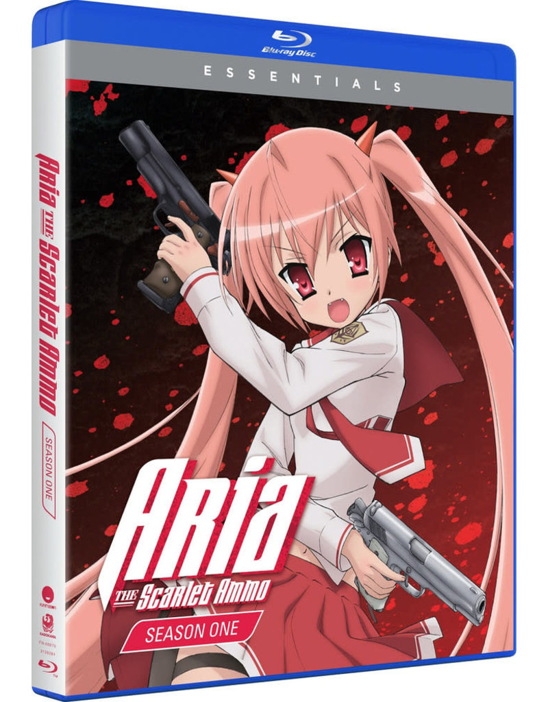Funimation Entertainment Aria the Scarlet Ammo Essentials Blu-Ray