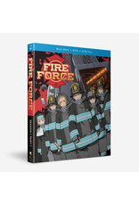 Funimation Entertainment Fire Force Season 1 Part 1 Blu-Ray/DVD