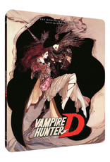 Sentai Filmworks Vampire Hunter D OVA Steelbook Blu-Ray