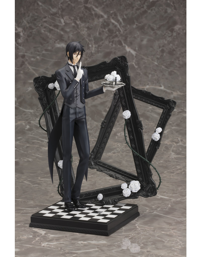 Kotobukiya Sebastian Michaelis Black Butler ArtFX Figure Kotobukiya