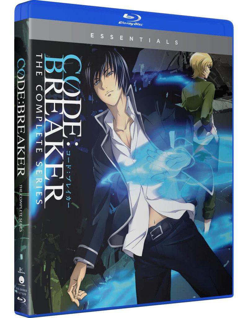 Funimation Entertainment Code Breaker Essentials Blu-Ray