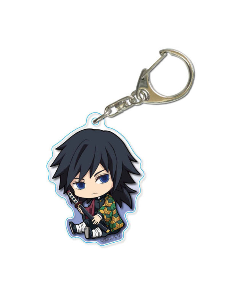 Demon Slayer Gyugyutto Acrylic Keychain