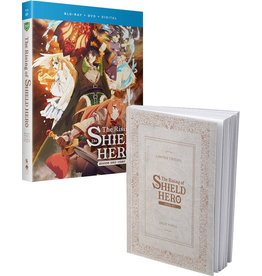 Funimation Entertainment Rising Of The Shield Hero, The Season 1 Part 2 + Light Novel Limited Edition Blu-Ray/DVD