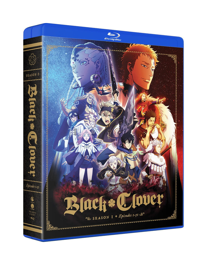 Funimation Entertainment Black Clover Season 1 Complete Collection Blu-Ray